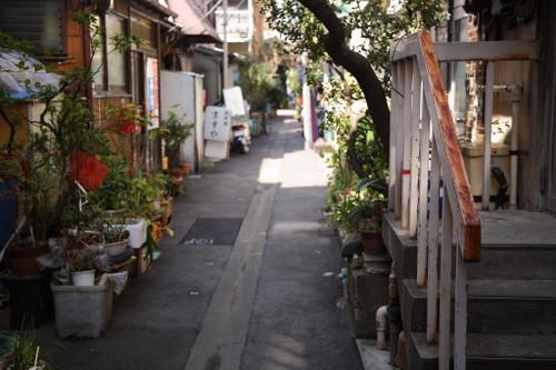 ⑱階段のある裏路地
